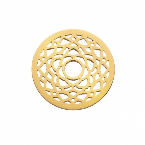 Daisy London Halo Coin Kronenchakra Silber 18kt vergoldet