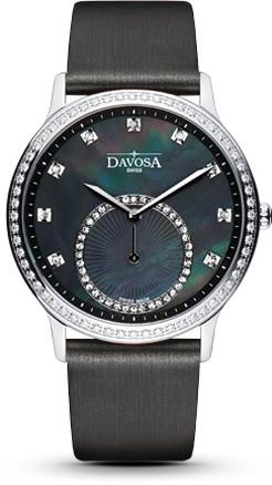 Davosa Quartz Damenuhr Audrey mit Saphirglas u. Zirkonia