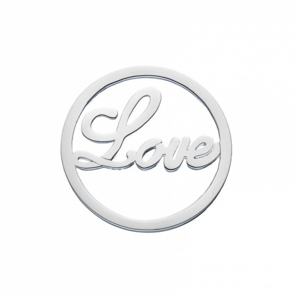 Daisy London Halo Coin Love Silber