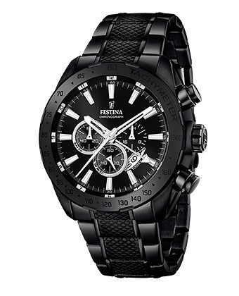 Uhren shop  Festina Sport Chronograph Black & Blue Dual Time F16889/1 | der ...